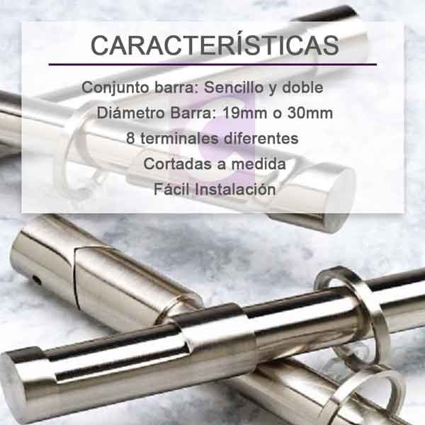 Barras de Cortinas Basic