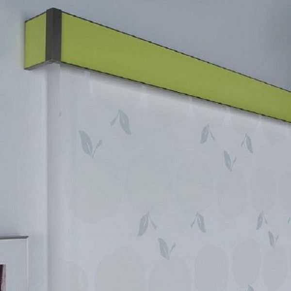 Galerias para Cortinas de Aluminio Laminado Color