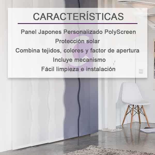 Panel Japones Personalizado Polyscreen Dense-eco