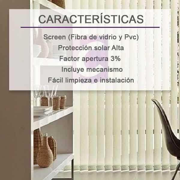 Cortinas Verticales Screen Ibiza-3