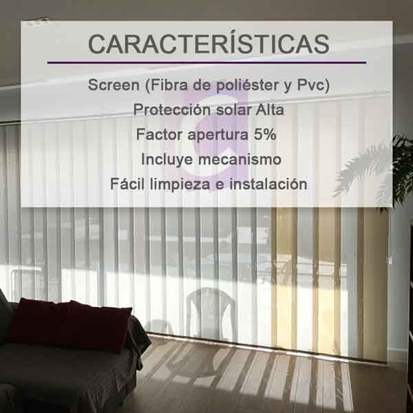 Cortinas Verticales Screen Basic-5