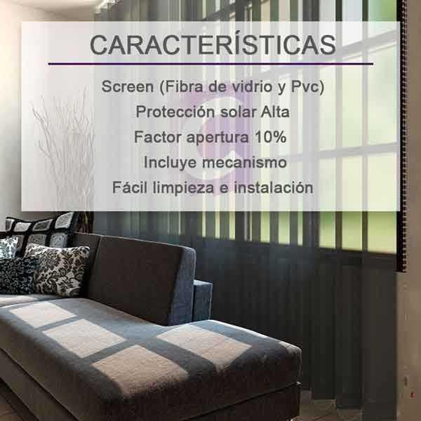 Cortinas Verticales Screen Ibiza-10